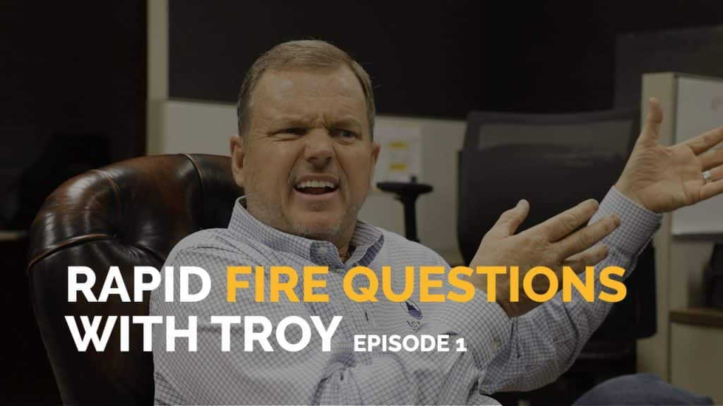 Questions with Troy Eckard