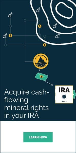 Cash-flowing mineral rights into SDIRA